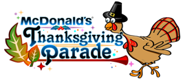 McDonald's Thanksgiving Day Parade turkey logo