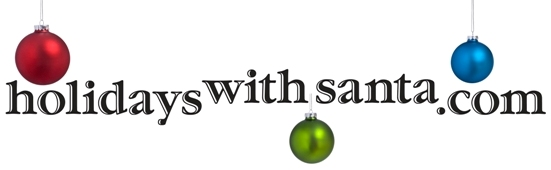 Holidays With Santa logo
